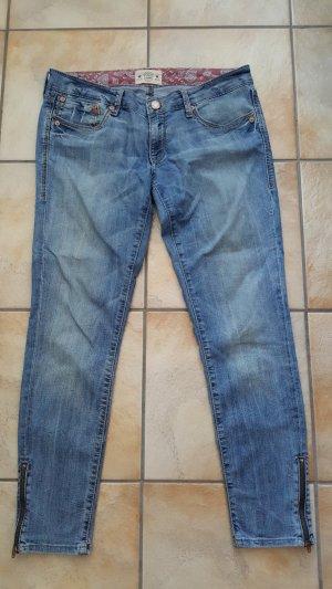 Mavi Jeans met rechte pijpen azuur