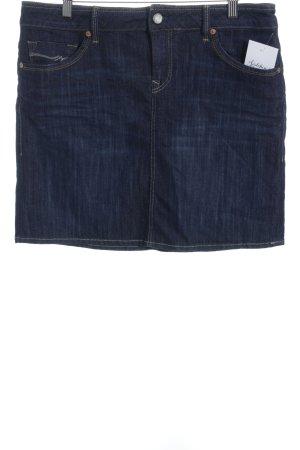 Mavi Jeansrock dunkelblau klassischer Stil