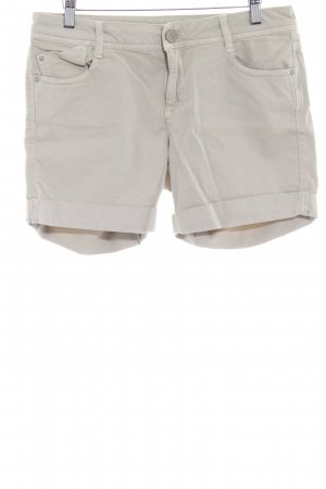 Mavi Short en jean beige clair style simple