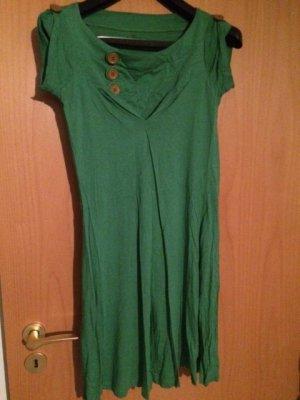 Mavi Jeans Co. Babydoll-jurk groen Gemengd weefsel