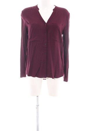 Mavi Langarm-Bluse pink Casual-Look