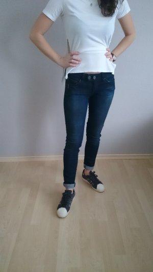 Mavi Marken-Jeans mit Waschung