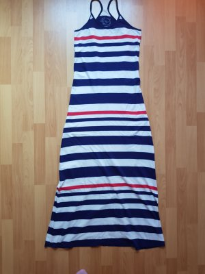 Mavi Maxikleid Rot Weiß Blau Marineblau Royalblau Lang Sommer Blogger