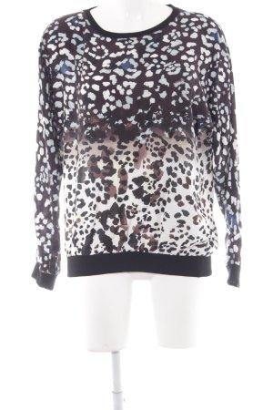 Mavi Oversized Pullover Farbtupfermuster extravaganter Stil