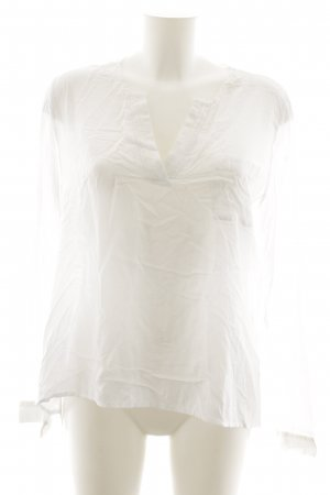 Mavi Schlupf-Bluse weiß Casual-Look