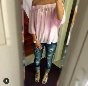 Mavi Serena Jeans 26/32 blau destroyed Risse Skinny Low Top