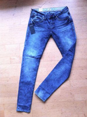 Mavi Serena | low-rise Superskinny in blau Gr.29/32