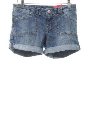 Mavi Shorts blau Casual-Look