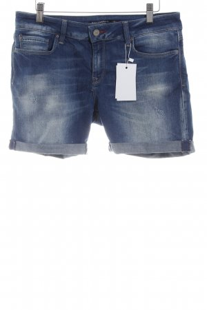 Mavi Shorts dunkelblau Jeans-Optik