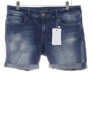 Mavi Short donkerblauw Jeans-look