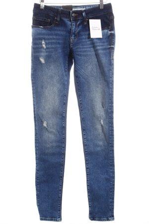 "Mavi Skinny Jeans ""Adriana Mid-Rise Super-Skinny"" blau"