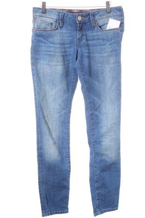 Mavi Skinny Jeans blau klassischer Stil