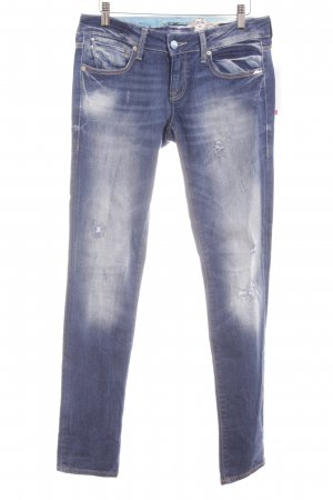 Mavi Skinny Jeans blau Washed-Optik
