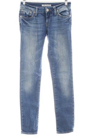 Mavi Skinny Jeans blau Washed-Optik