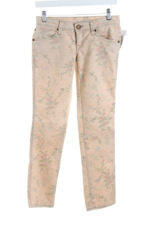 Mavi Skinny Jeans Blumenmuster Romantik-Look