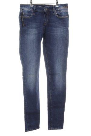 Mavi Skinny Jeans dunkelblau-blassblau Casual-Look