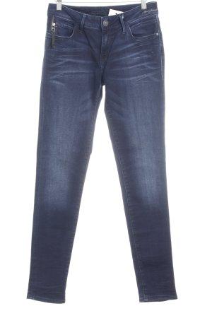 Mavi Skinny Jeans dunkelblau Jeans-Optik