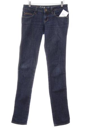 Mavi Skinny Jeans dunkelblau schlichter Stil