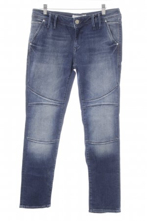 Mavi Skinny Jeans dunkelblau Street-Fashion-Look
