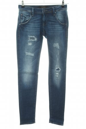 Mavi Skinny Jeans blau Casual-Look