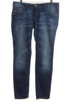 Mavi Skinny Jeans neonblau Casual-Look