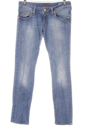 Mavi Skinny Jeans hellblau Casual-Look