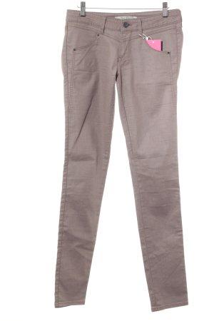 Mavi Skinny Jeans hellbraun Casual-Look