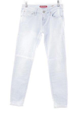 Mavi Skinny jeans azuur casual uitstraling