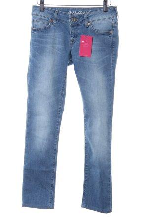 "Mavi Skinny Jeans ""Lindy"" blau"
