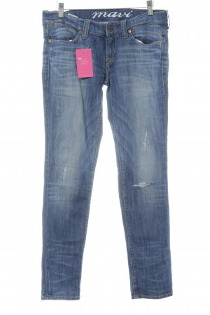 """Mavi Skinny Jeans """"Lindy"""" stahlblau"""