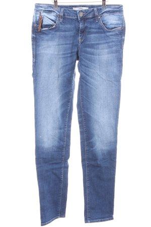 Mavi Skinny Jeans mehrfarbig Used-Optik