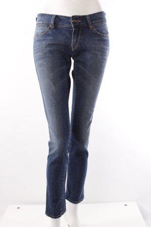Mavi Skinny Jeans mit Waschung