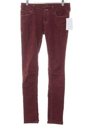 Mavi Skinny Jeans rostrot Casual-Look