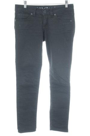 Mavi Skinny jeans zwart casual uitstraling