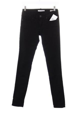 Mavi Skinny Jeans schwarz schlichter Stil