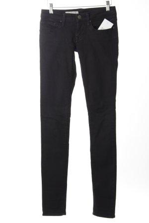 Mavi Skinny Jeans schwarz Street-Fashion-Look