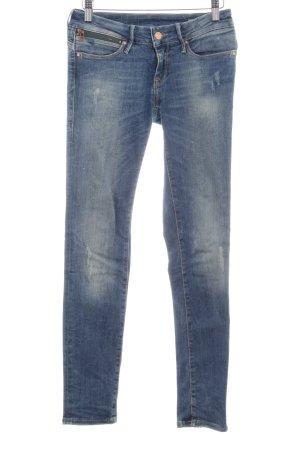 "Mavi Skinny Jeans ""Serena"" stahlblau"