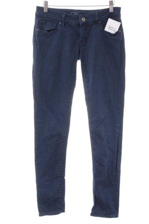 Mavi Skinny Jeans stahlblau Casual-Look