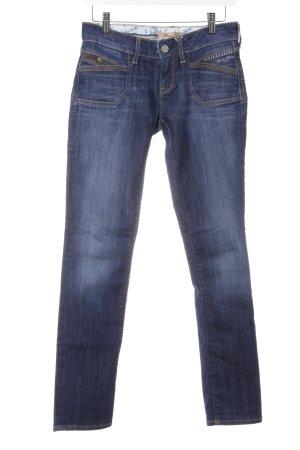 Mavi Skinny Jeans stahlblau-dunkelblau Casual-Look