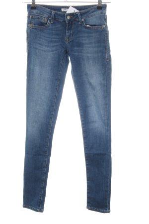 Mavi Jeans slim bleu style décontracté