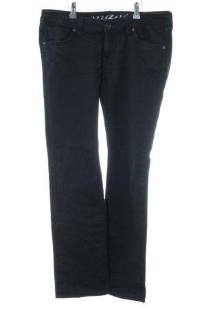 Mavi Slim Jeans schwarz Casual-Look