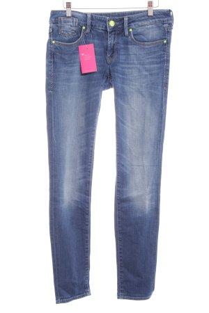 Mavi Slim Jeans blau Casual-Look