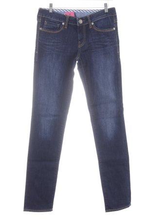 Mavi Slim Jeans dunkelblau-blau Jeans-Optik