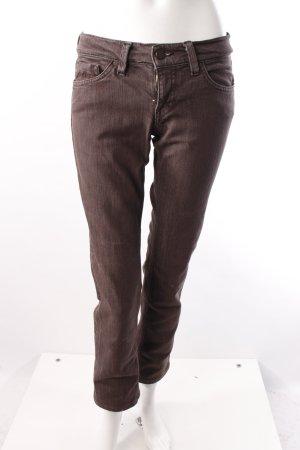 Mavi Slim Jeans grau