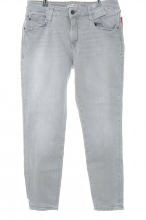 Mavi Slim Jeans hellgrau Casual-Look