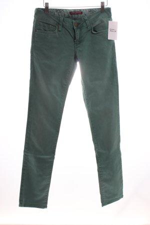 Mavi Slim Jeans hellgrün Casual-Look