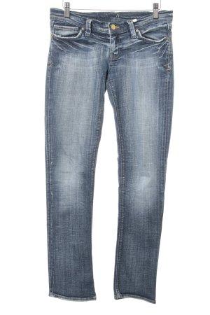 Mavi Slim Jeans stahlblau Casual-Look