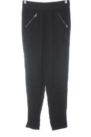 Mavi Stoffhose schwarz sportlicher Stil