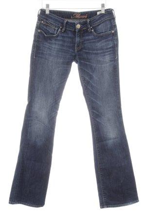 Mavi Straight-Leg Jeans dunkelblau-stahlblau Casual-Look