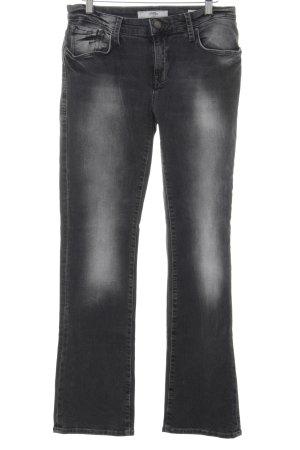 Mavi Straight-Leg Jeans dunkelgrau